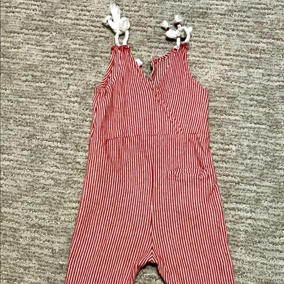 sale online new fine craftsmanship Zara toddler girls striped jumpsuit